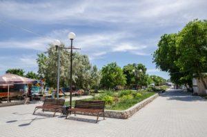 Крым Черноморское семейный отдых с маленькими детьми
