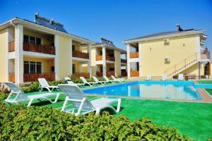 Крым, Черноморское, отдых цены мини гостиниц
